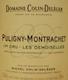 Domaine Colin-Deléger Puligny-Montrachet Premier Cru Les Demoiselles - label