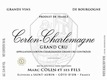 Domaine Marc Colin et Fils Corton-Charlemagne Grand Cru  - label