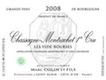 Domaine Marc Colin et Fils Chassagne-Montrachet Premier Cru Vide Bourse - label