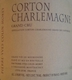 Domaine Pierre-Yves Colin-Morey Corton-Charlemagne Grand Cru  - label