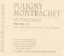 Domaine Pierre-Yves Colin-Morey Puligny-Montrachet Premier Cru Les Folatières - label
