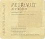 Domaine Pierre-Yves Colin-Morey Meursault Premier Cru Perrières - label