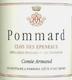 Domaine des Epeneaux (Comte Armand) Pommard Premier Cru Clos des Epeneaux - label