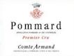 Domaine des Epeneaux (Comte Armand) Pommard Premier Cru  - label