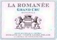 Domaine du Comte Liger-Belair La Romanée Grand Cru  - label