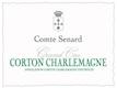 Domaine Comte Senard Corton-Charlemagne Grand Cru  - label