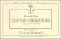 Domaine Comte Senard Corton Grand Cru Bressandes - label