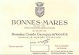 Domaine Comte Georges de Vogüé Bonnes-Mares Grand Cru  - label