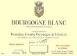 Domaine Comte Georges de Vogüé Bourgogne Blanc - label