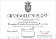 Domaine Comte Georges de Vogüé Chambolle-Musigny  - label
