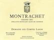 Domaine des Comtes Lafon Montrachet Grand Cru  - label