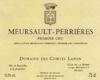 Domaine des Comtes Lafon Meursault Premier Cru Perrières - label