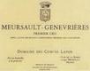 Domaine des Comtes Lafon Meursault Premier Cru Genevrières - label