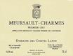Domaine des Comtes Lafon Meursault Premier Cru Charmes - label
