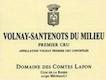 Domaine des Comtes Lafon Volnay Premier Cru Santenots-du-Milieu - label