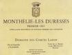 Domaine des Comtes Lafon Monthelie Premier Cru Les Duresses - label