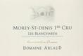 Domaine Arlaud Morey-Saint-Denis Premier Cru Les Blanchards - label