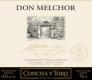 Concha Y Toro Don Melchor Cabernet Sauvignon - label