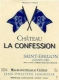 Château La Confession  Grand Cru - label