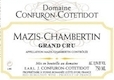 Domaine Confuron-Cotetidot Mazis-Chambertin Grand Cru  - label