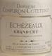 Domaine Confuron-Cotetidot Echezeaux Grand Cru  - label