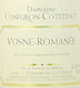 Domaine Confuron-Cotetidot Vosne-Romanée  - label