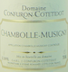 Domaine Confuron-Cotetidot Chambolle-Musigny  - label