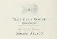 Domaine Arlaud Clos de la Roche Grand Cru  - label