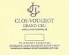 Domaine Jean-Jacques Confuron Clos de Vougeot Grand Cru  - label