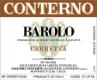 Giacomo Conterno Barolo Cerretta (formerly Langhe Nebbiolo) - label