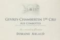 Domaine Arlaud Gevrey-Chambertin Premier Cru Aux Combottes - label