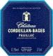 Château Cordeillan Bages  - label