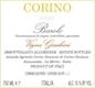 Giovanni Corino Barolo Vigna Giachini - label