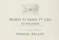 Domaine Arlaud Morey-Saint-Denis Premier Cru Les Millandes - label