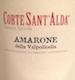 Corte Sant' Alda Amarone della Valpolicella  - label