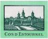 Château Cos d'Estournel Blanc - label