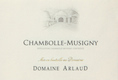 Domaine Arlaud Chambolle-Musigny  - label