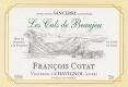 Domaine François Cotat Les Culs de Beaujeu - label