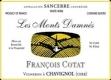 Domaine François Cotat Les Monts Damnés - label