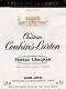 Château Couhins-Lurton  Cru Classé de Graves - label