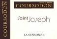 Domaine Coursodon Saint-Joseph La Sensonne - label