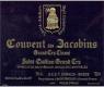Couvent des Jacobins  Grand Cru Classé - label