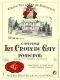 Château La Croix de Gay  - label