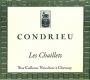Domaine Yves Cuilleron Condrieu Les Chaillets - label