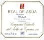 Cune Rioja Real de Asúa Reserva - label