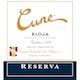Cune Rioja  Reserva - label