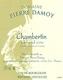 Domaine Pierre Damoy Chambertin Grand Cru  - label
