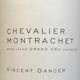 Vincent Dancer Chevalier-Montrachet Grand Cru  - label