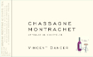 Vincent Dancer Chassagne-Montrachet  - label