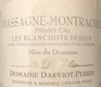Domaine Darviot-Perrin Chassagne-Montrachet Premier Cru Blanchot Dessus - label